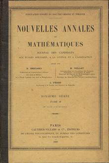 Les Nouvelles Annales de Mathématique